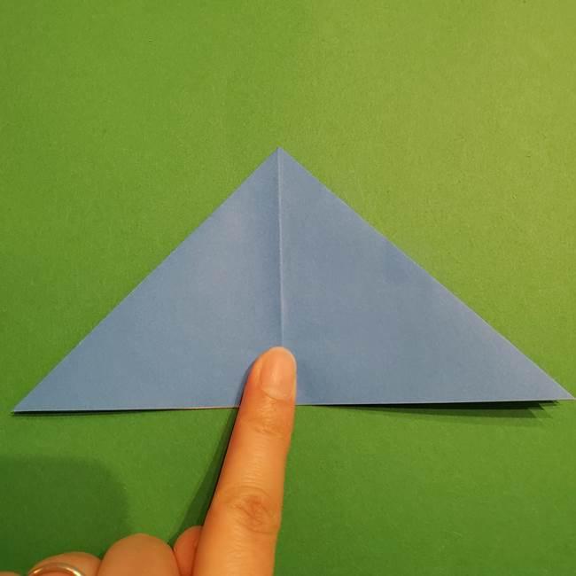 ポケモンの折り紙 リオルの折り方作り方(10)