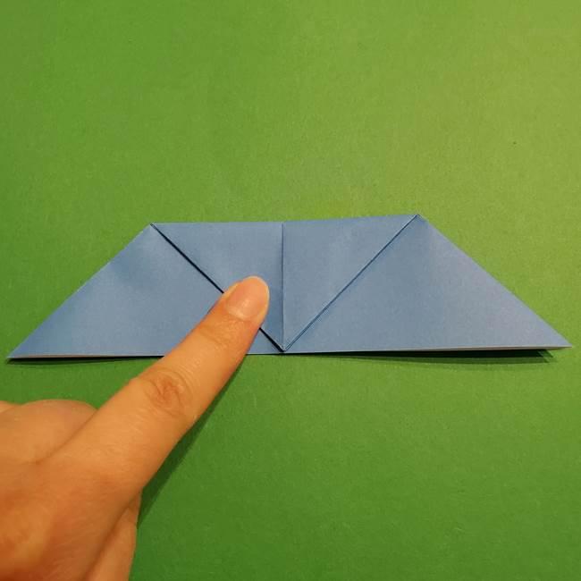 ポケモンの折り紙 リオルの折り方作り方(11)
