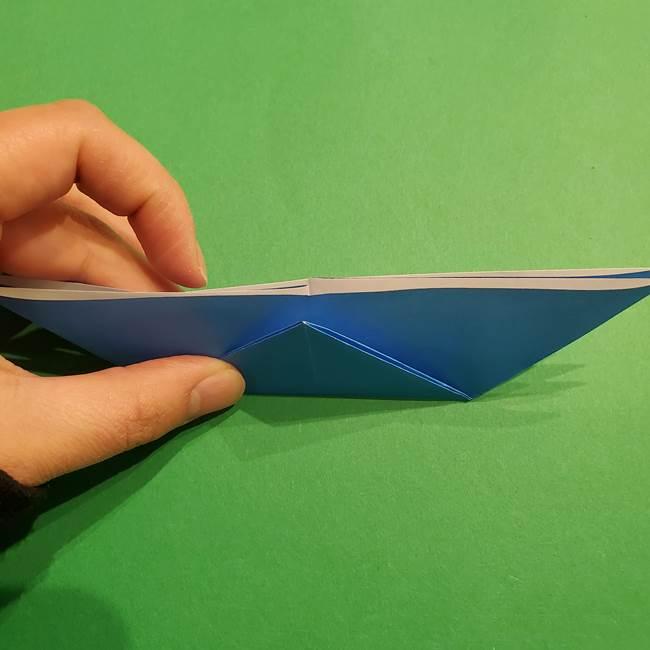 ポケモンの折り紙 リオルの折り方作り方(12)