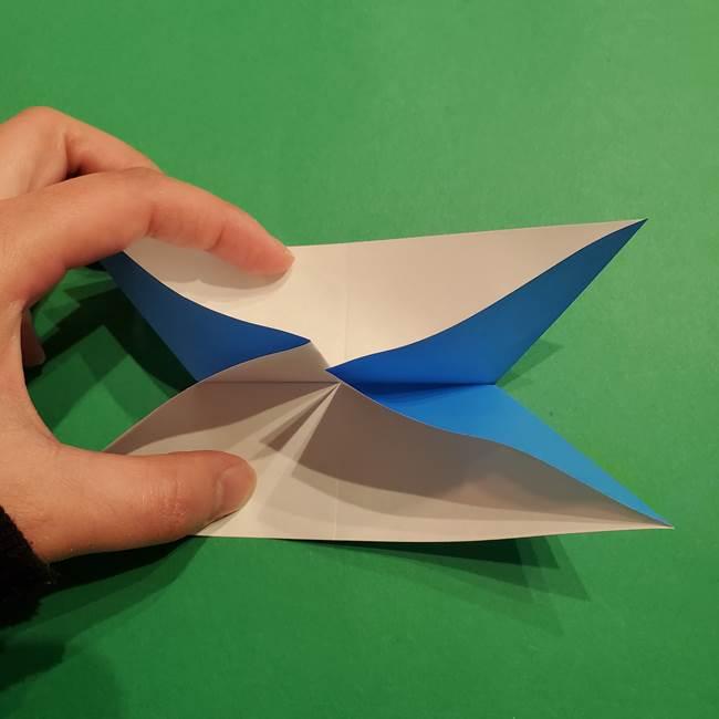 ポケモンの折り紙 リオルの折り方作り方(13)
