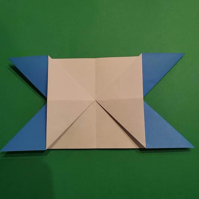 ポケモンの折り紙 リオルの折り方作り方(14)