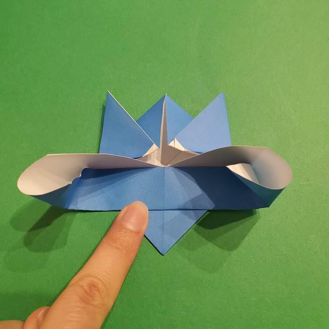 ポケモンの折り紙 リオルの折り方作り方(19)