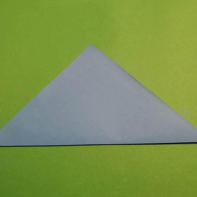 ポケモンの折り紙 リオルの折り方作り方(2)