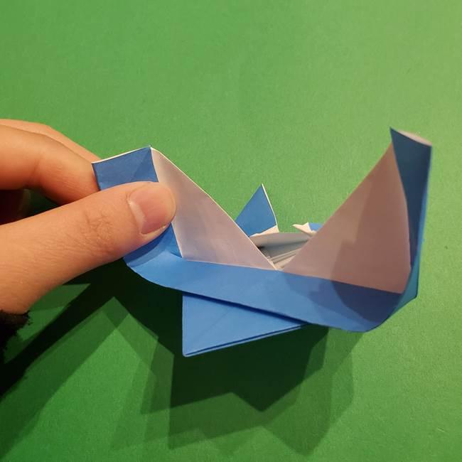 ポケモンの折り紙 リオルの折り方作り方(20)