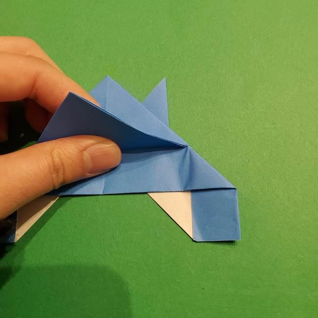 ポケモンの折り紙 リオルの折り方作り方(23)
