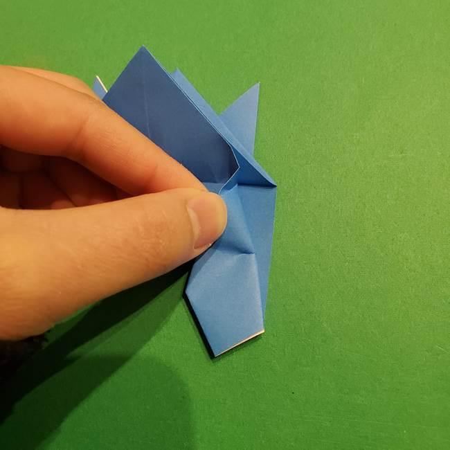 ポケモンの折り紙 リオルの折り方作り方(24)