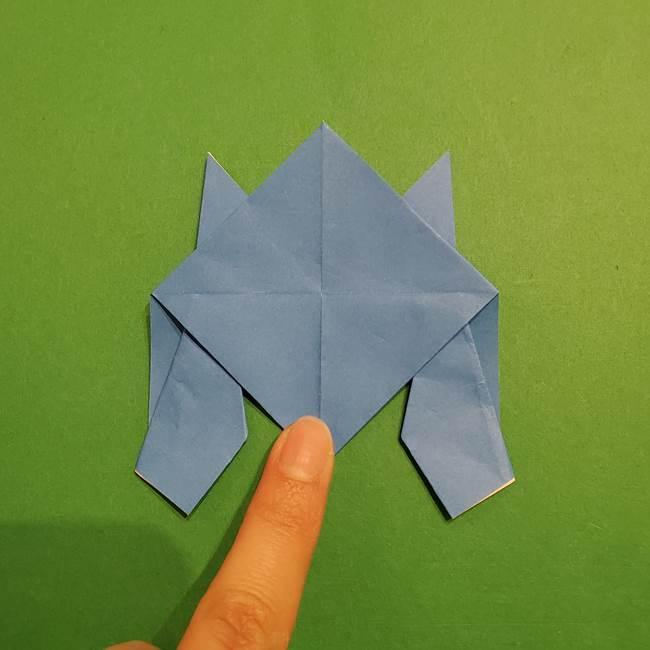 ポケモンの折り紙 リオルの折り方作り方(27)