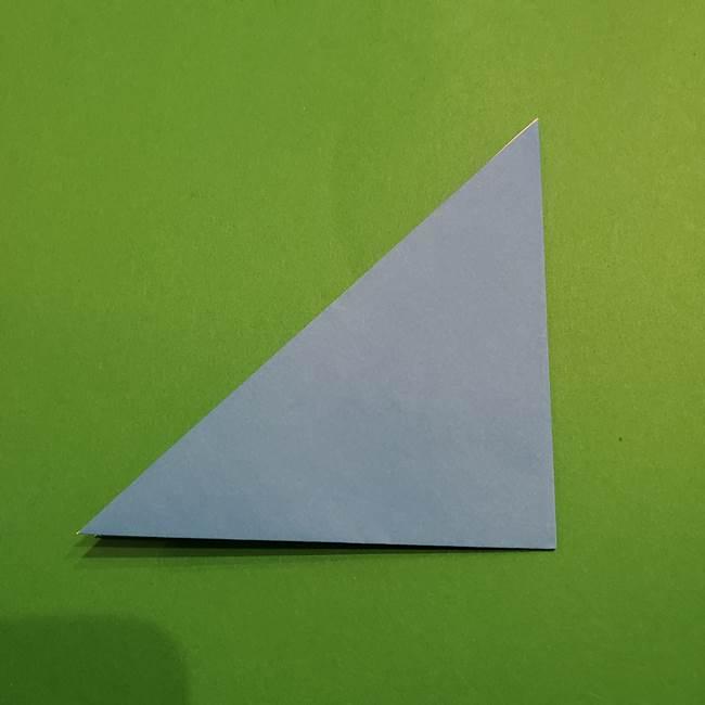 ポケモンの折り紙 リオルの折り方作り方(3)