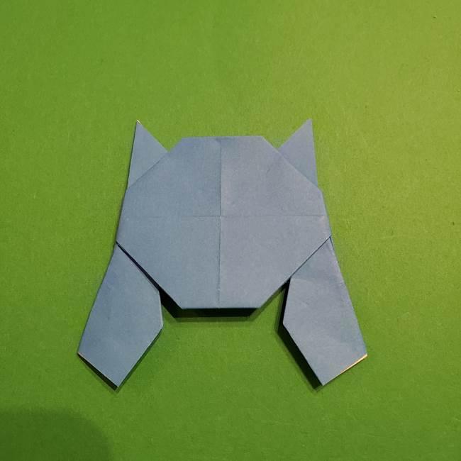 ポケモンの折り紙 リオルの折り方作り方(32)