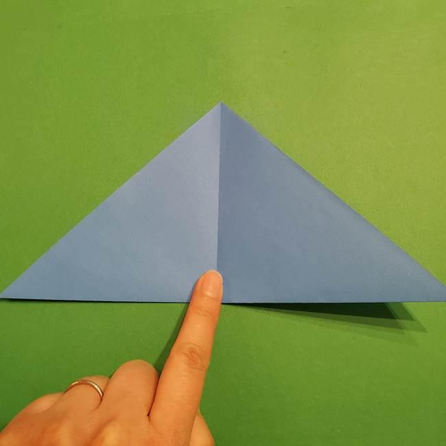 ポケモンの折り紙 リオルの折り方作り方(4)