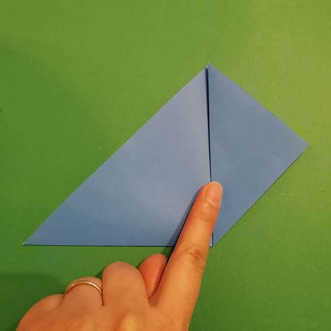 ポケモンの折り紙 リオルの折り方作り方(5)