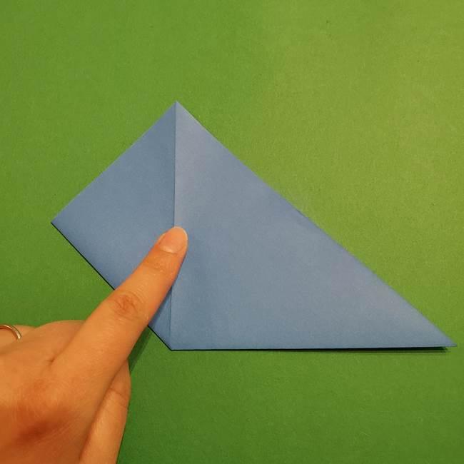 ポケモンの折り紙 リオルの折り方作り方(6)