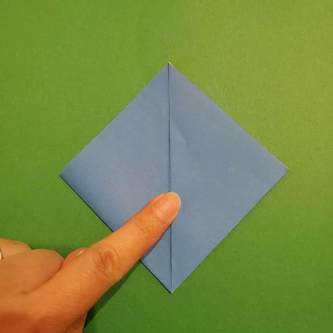 ポケモンの折り紙 リオルの折り方作り方(7)