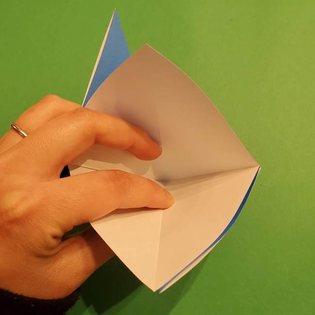 ポケモンの折り紙 リオルの折り方作り方(8)