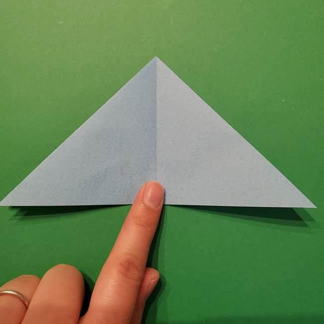 ポケモン 折り紙のインテレオン*折り方作り方(10)