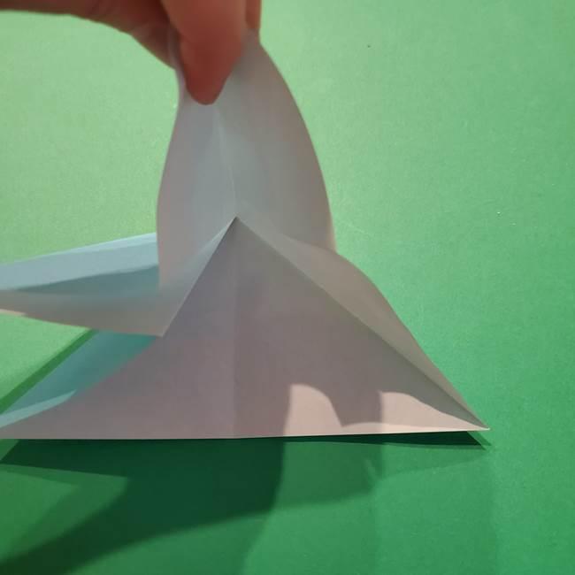 ポケモン 折り紙のインテレオン*折り方作り方(11)