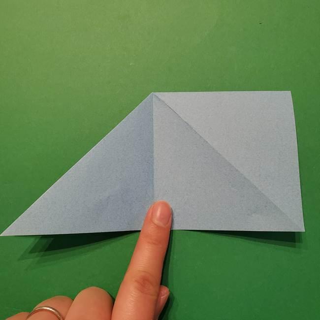 ポケモン 折り紙のインテレオン*折り方作り方(12)