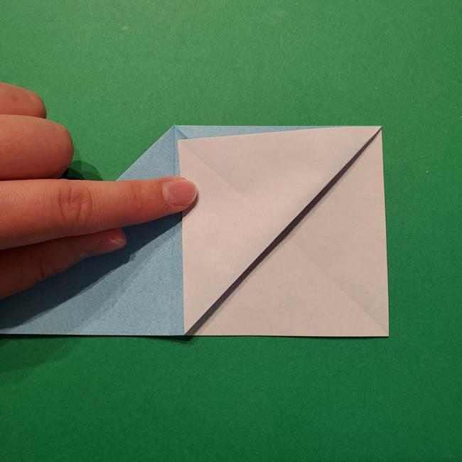 ポケモン 折り紙のインテレオン*折り方作り方(13)