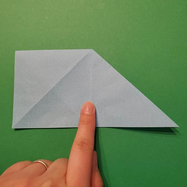 ポケモン 折り紙のインテレオン*折り方作り方(14)