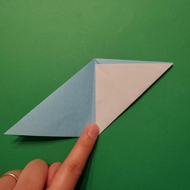 ポケモン 折り紙のインテレオン*折り方作り方(16)