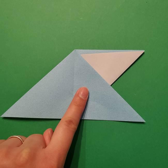 ポケモン 折り紙のインテレオン*折り方作り方(17)