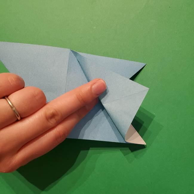 ポケモン 折り紙のインテレオン*折り方作り方(18)