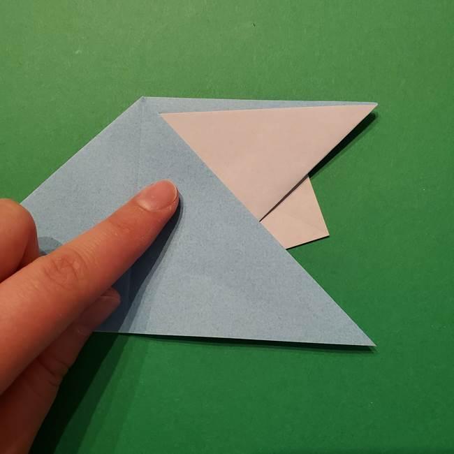 ポケモン 折り紙のインテレオン*折り方作り方(19)