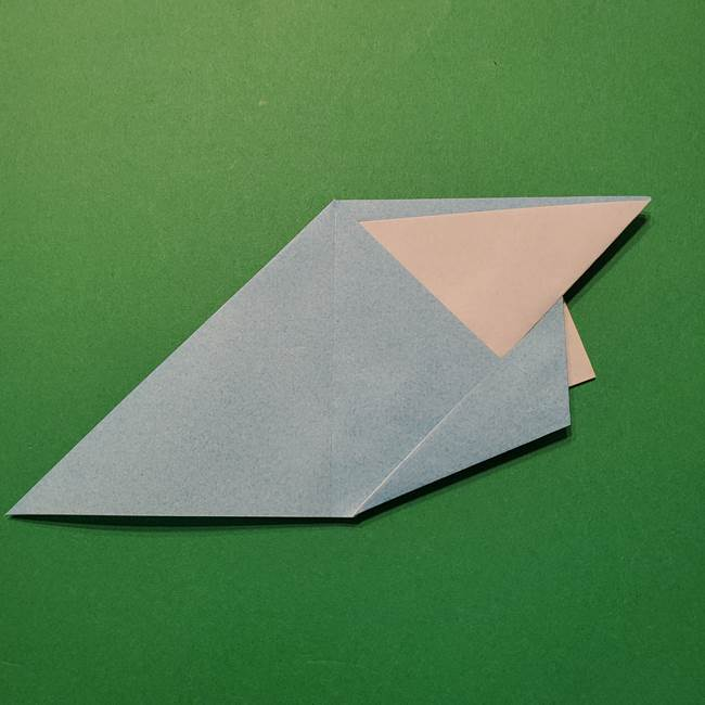 ポケモン 折り紙のインテレオン*折り方作り方(20)