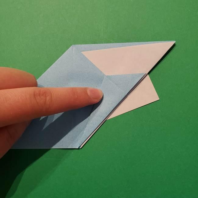 ポケモン 折り紙のインテレオン*折り方作り方(21)
