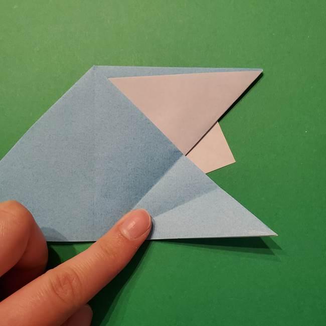 ポケモン 折り紙のインテレオン*折り方作り方(22)