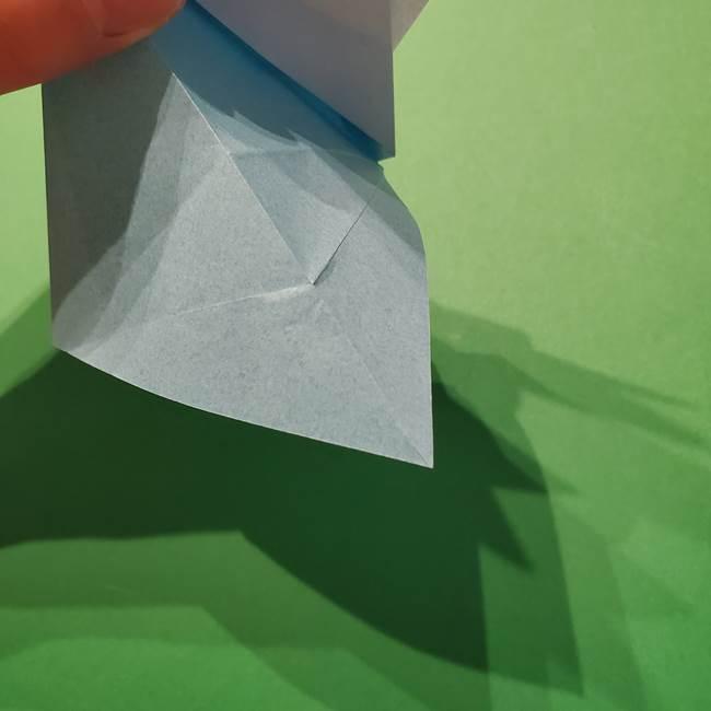 ポケモン 折り紙のインテレオン*折り方作り方(23)