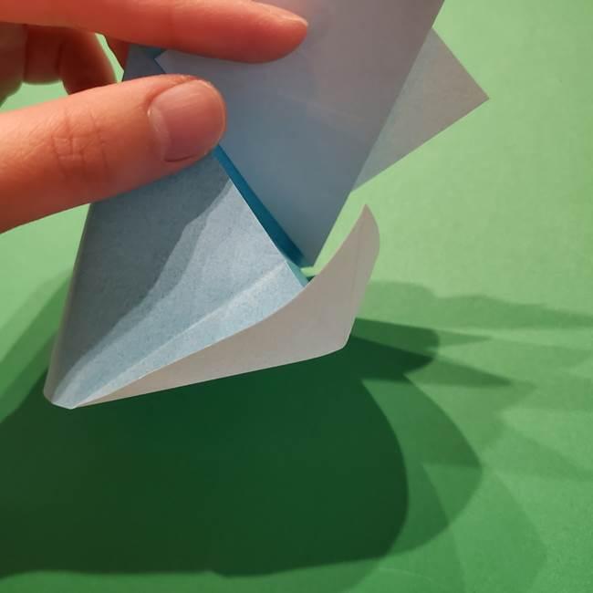 ポケモン 折り紙のインテレオン*折り方作り方(24)