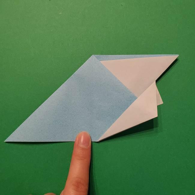 ポケモン 折り紙のインテレオン*折り方作り方(25)