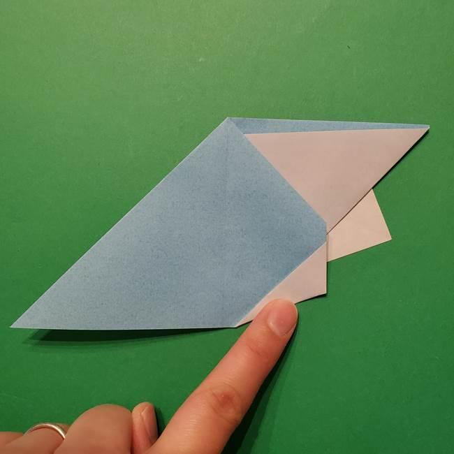 ポケモン 折り紙のインテレオン*折り方作り方(26)