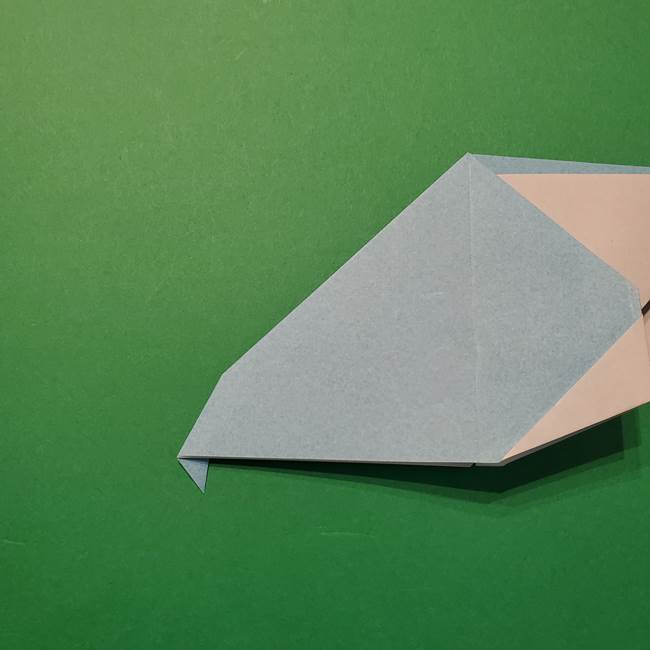 ポケモン 折り紙のインテレオン*折り方作り方(27)