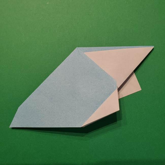 ポケモン 折り紙のインテレオン*折り方作り方(29)