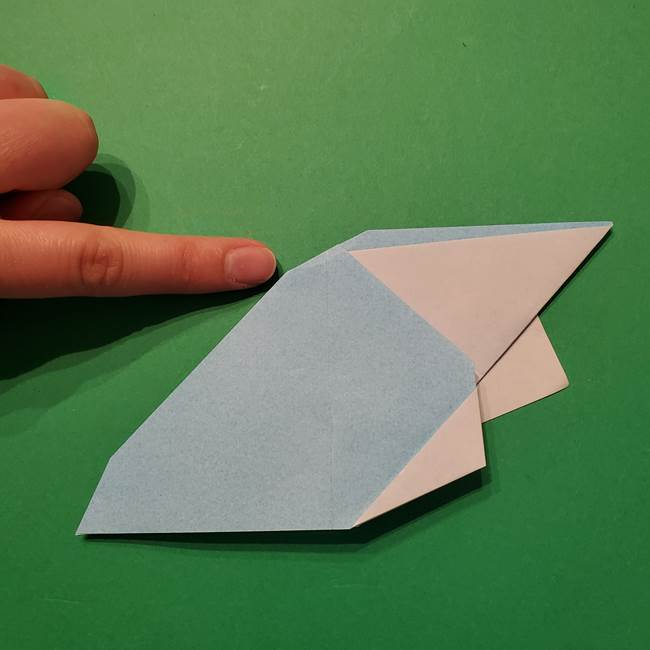 ポケモン 折り紙のインテレオン*折り方作り方(30)
