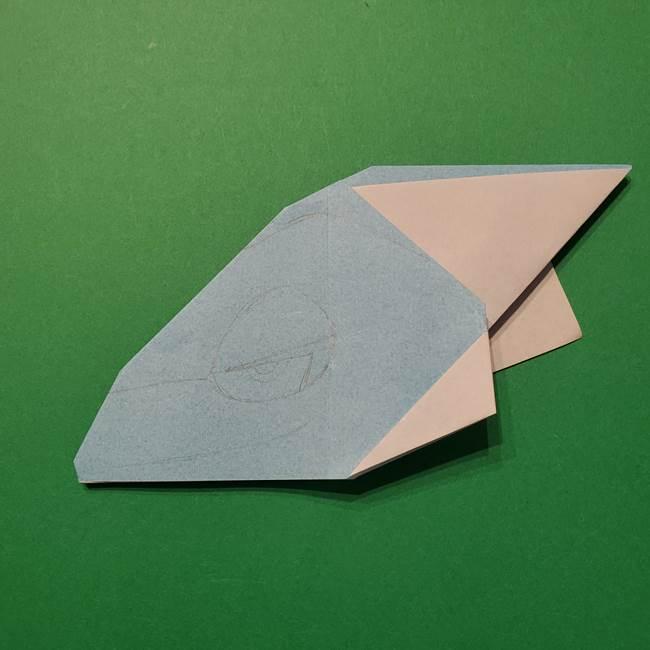 ポケモン 折り紙のインテレオン*折り方作り方(31)