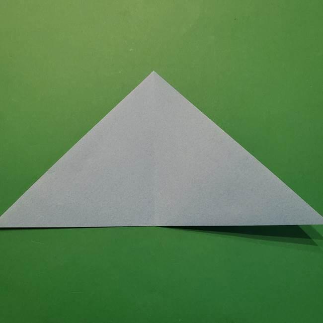 ポケモン 折り紙のインテレオン*折り方作り方(4)