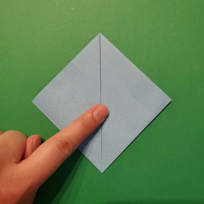 ポケモン 折り紙のインテレオン*折り方作り方(5)