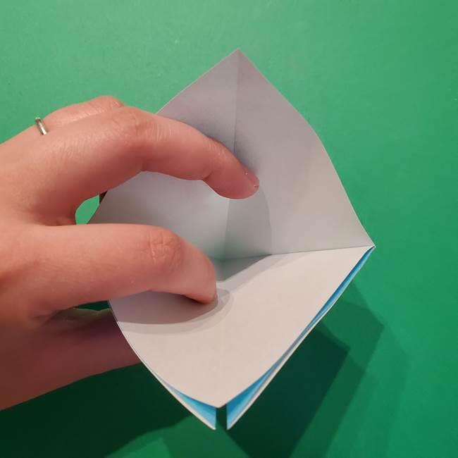 ポケモン 折り紙のインテレオン*折り方作り方(6)