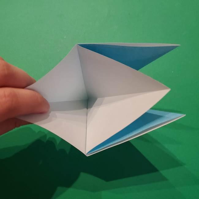 ポケモン 折り紙のインテレオン*折り方作り方(7)