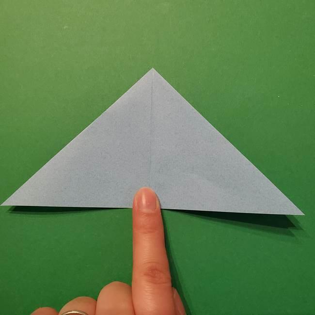 ポケモン 折り紙のインテレオン*折り方作り方(8)