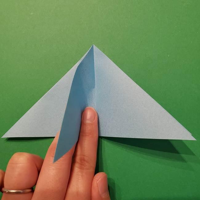 ポケモン 折り紙のインテレオン*折り方作り方(9)