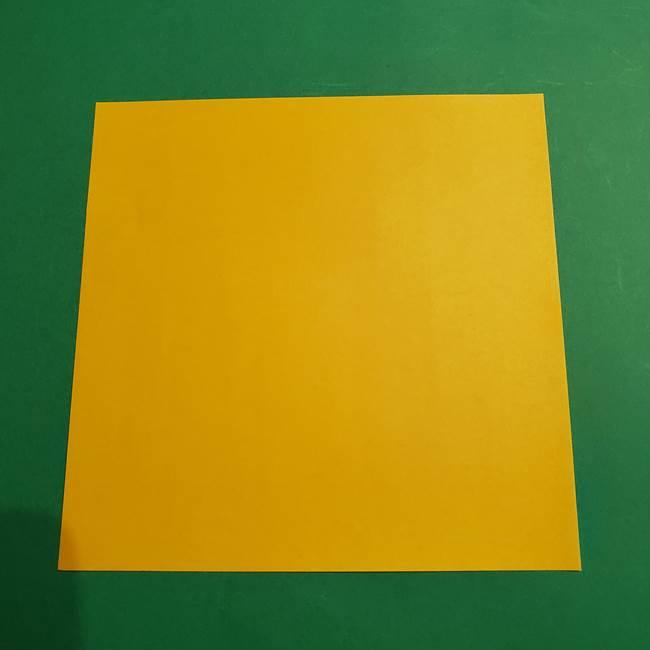ポケモン 折り紙のゼラオラ*用意するもの(1)