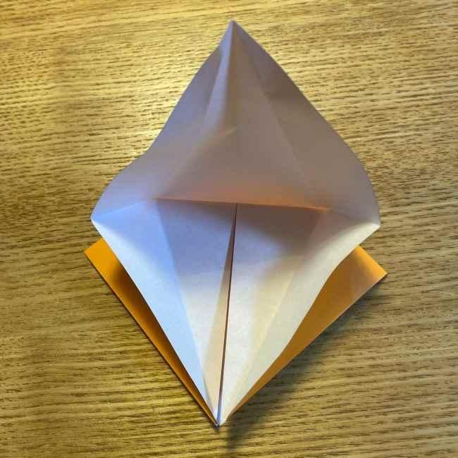 ポケモン 折り紙のポカブ 折り方作り方 (10)