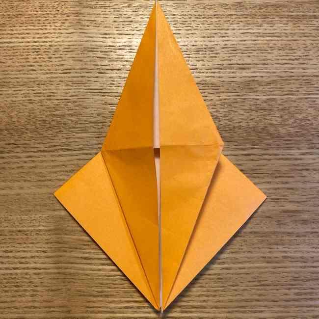 ポケモン 折り紙のポカブ 折り方作り方 (11)