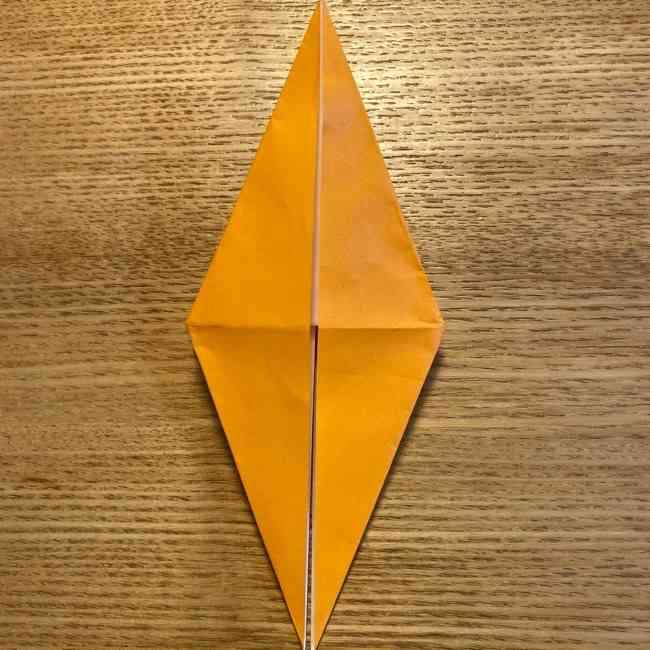 ポケモン 折り紙のポカブ 折り方作り方 (13)