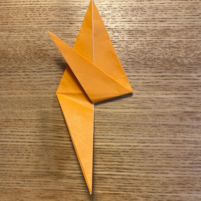 ポケモン 折り紙のポカブ 折り方作り方 (14)