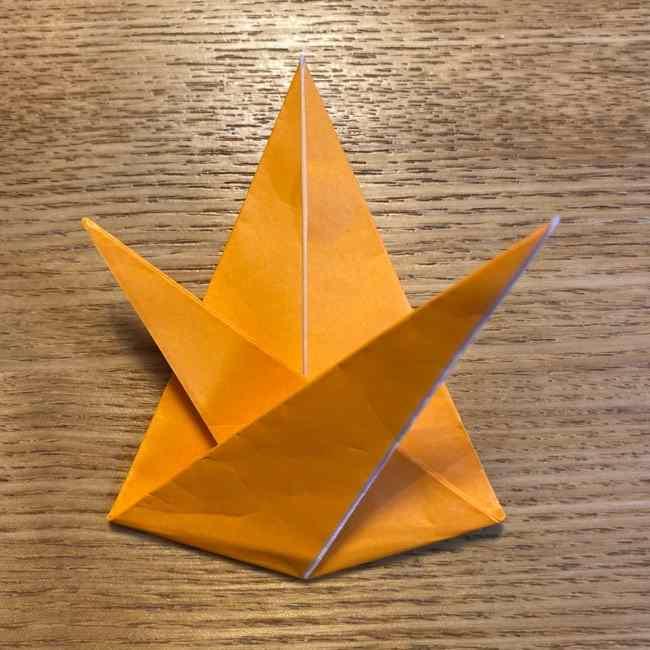 ポケモン 折り紙のポカブ 折り方作り方 (15)
